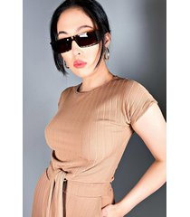 akira gimme casual front tie top