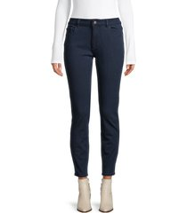 dl1961 women's mid-rise skinny cropped jeans - stowe - size 26 (2-4)