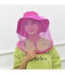 maleroads anti mosquitos malla pesca gorro cubo sombrero bush sombreros