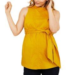 a pea in the pod maternity peplum blouse