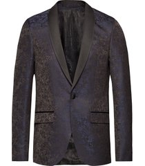 6255 - star sj. normal blazer colbert blauw sand