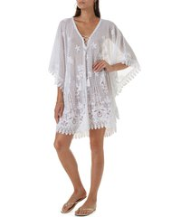 melissa odabash cindy cover-up dress in white at nordstrom