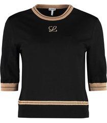 loewe short sleeve sweater