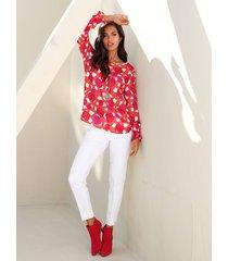 blouse amy vermont oranje::pink