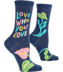 blue q women's love socks