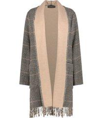 cozy front-open overcoat