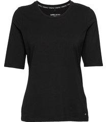 t-shirt 3/4-sleeve r t-shirts & tops short-sleeved svart gerry weber edition