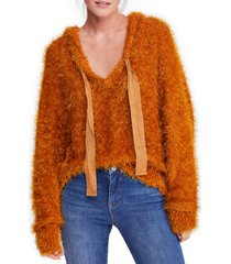 women's free people light as a feather hoodie