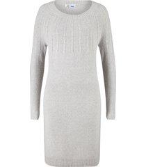 abito in maglia con coste (grigio) - bpc bonprix collection