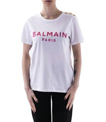 balmain balmain cotton t-shirt