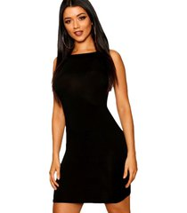 vestido racy modas curto tubinho preto