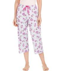 hue plant your garden capri pajama pant