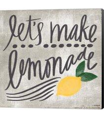 let's make lemonade by katie doucette canvas art