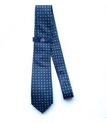 corbata azul oscura oscar de la renta 20aa2070-194