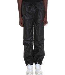 alexander wang pants in black nylon