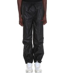 alexander wang pants in black nylon