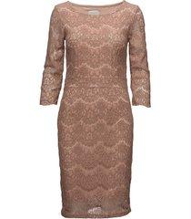anastacia dress knälång klänning rosa minus