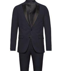 tuxedo smoking blauw lindbergh