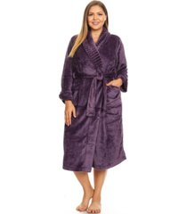 white mark super soft lounge robe