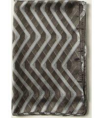 emporio armani neck scarf emporio armani scarf in patterned organza