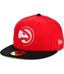 new era atlanta hawks basic 2-tone 59fifty cap