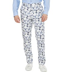 bar iii men's slim-fit floral suit separate pant, created for macy's