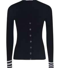 off-white industrial knit cardigan