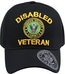 u.s. military cap hat vietnam veteran army marine navy air force (disabled veter
