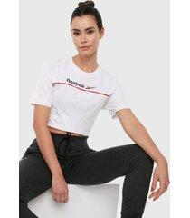 camiseta blanco-rojo-azul reebok classics fpundation linear