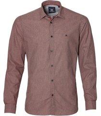 sale - lerros overhemd - modern fit - rood