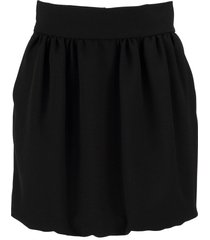 red valentino mini skirt with wire pockets