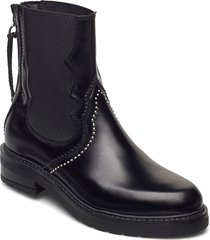 cecilia polido shoes boots ankle boots ankle boot - flat svart pavement