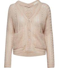 feel it sweater gebreide trui cardigan roze odd molly