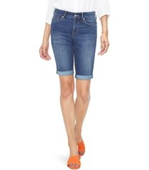 women's nydj briella cool embrace roll cuff shorts