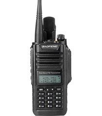compact uv-9rplus impermeable ham radio walkie talkie doble banda vhf