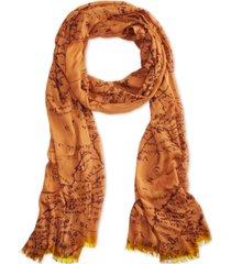 patricia nash vintage print scarf