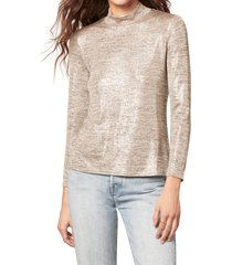 women's cupcakes and cashmere chelsea top, size medium - brown