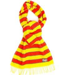 kenzo memento 3 striped scarf