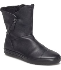 fara shoes boots ankle boots ankle boots flat heel svart ecco