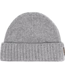 moorer cashmere knitted beanie