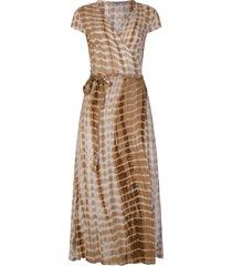 ambika jurk beige jildou