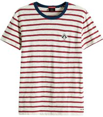 t-shirt yarn rood