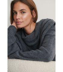 na-kd trend stickad tröja - grey