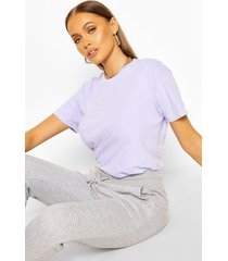 washed oversized t-shirt, lilac