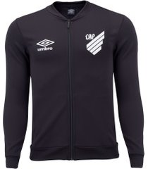 jaqueta do athletico-pr hino 2020 umbro - masculina - preto