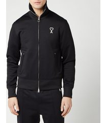 ami men's technical sweatshirt - noir - l