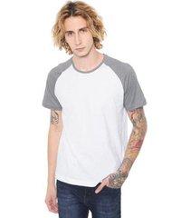 camiseta raglan básica com 100% algodão di nuevo masculina - masculino