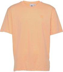 adicolor classics marshmallow trefoil tee t-shirts short-sleeved orange adidas originals