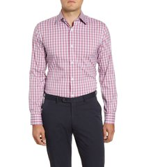 men's bonobos warrington trim fit plaid dress shirt