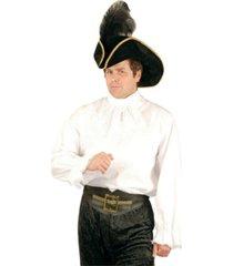 buyseasons men's white pirate shirt